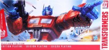 TRANSFORMERS PLATINUM - YEAR OF ROOSTER OPTIMUS PRIME